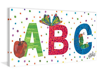 ABC 12x24 Canvas Art, , large