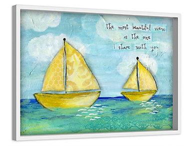 At Sea 12x18 Canvas Art, , large