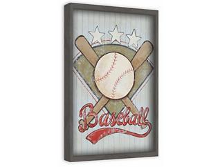 Baseball 30x20 Canvas Art, , large