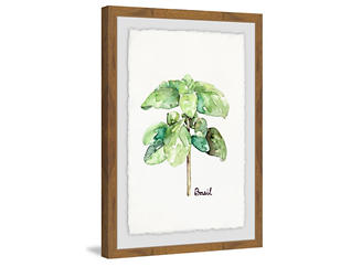 Basil 18x12 Framed Art, , large