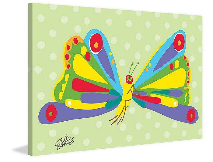 Butterfly 16x24 Canvas Art, , large