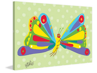 Butterfly 40x60 Canvas Art, , large