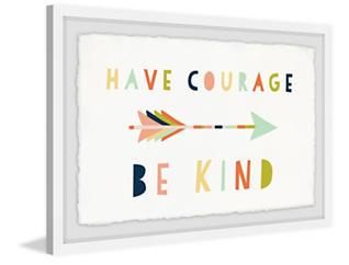 Have Courage 24x36 Framed Art, , large