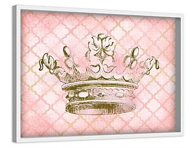 Crown 12x18 Canvas Art, , large