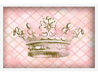 """Crown 12"""" x 18"""" Canvas Art, , large"""