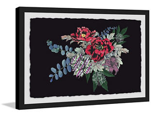 Floral Dream 24x36 Framed Art, , large