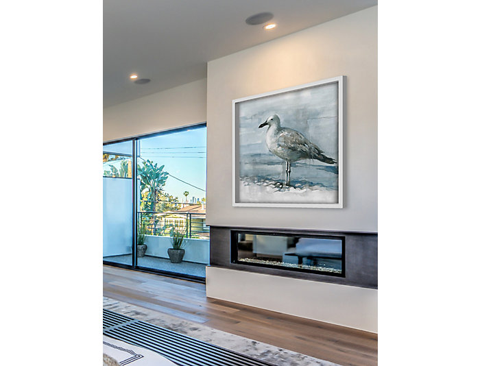 Feathered 18x18 Canvas Art, , large