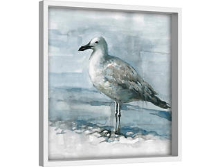 Feathered 40x40 Canvas Art, , large