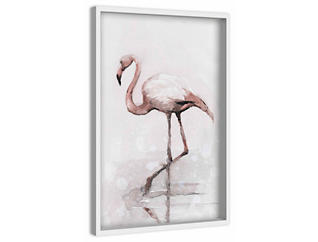 Flamingo 24x16 Canvas Art, , large