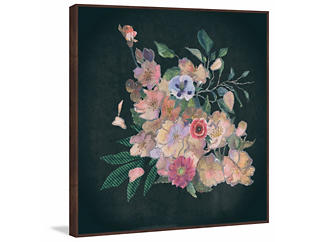 Floral Dream 16x16 Canvas Art, , large