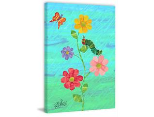 Flowers 60x40 Canvas Art, , large