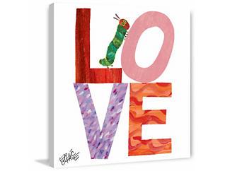 LOVE 24x24 Canvas Art, , large
