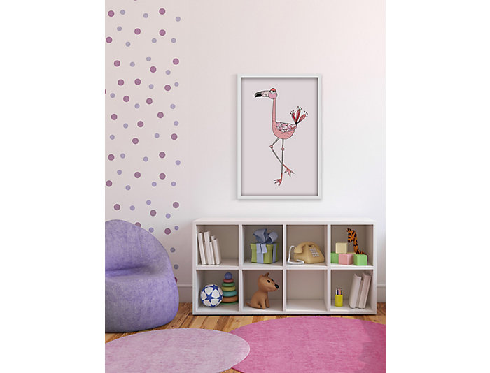 Flamingo 18x12 Canvas Art, , large