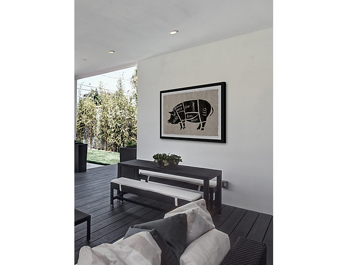Pork Cuts 30x45 Framed Art, , large
