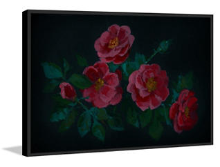 Red Roses 20x30 Canvas Art, , large