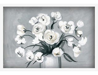 "Spring White 24"" x 36"" Canvas Art, , large"