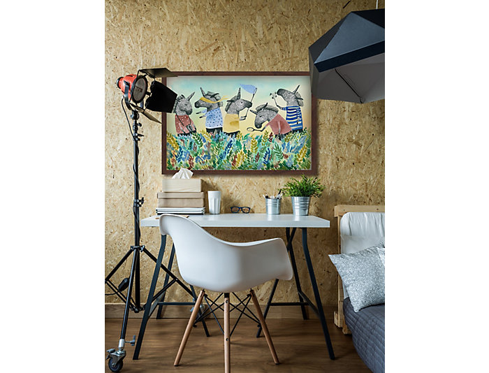 unicorn squad 20x30 canvas art