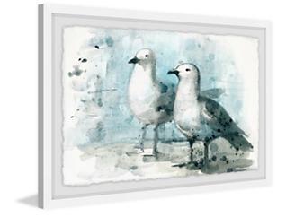 Sweet Pair 12x18 Framed Art, , large