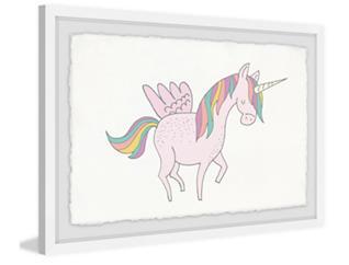 Unicorn Wings 20x30 Framed Art, , large