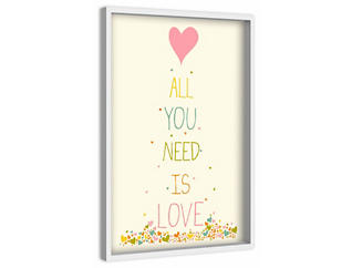 All You Need 45x30 Canvas Art, , large
