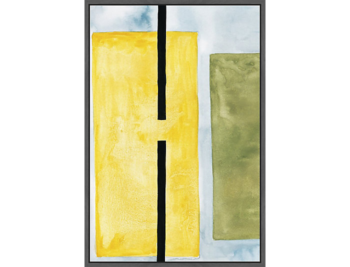 Yellow Space 30x20 Cancas Art, , large