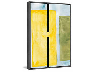 Yellow Space 45x30 Cancas Art, , large
