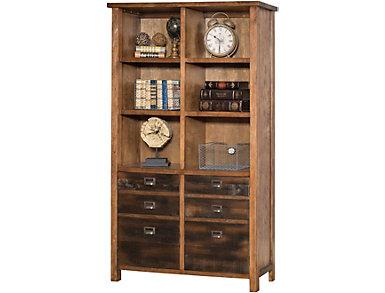 Heritage Hickory Bookcase, , large
