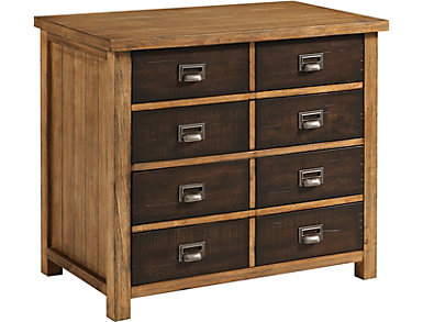 Heritage Hickory Lateral File, , large