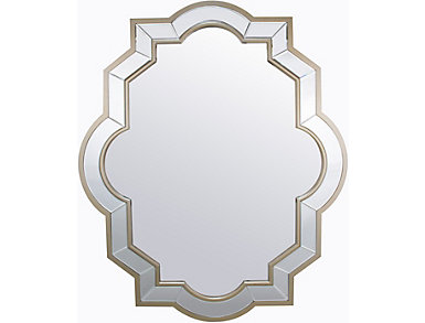 Susan Oblong Mirror, , large