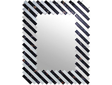 Slats Rectangular Mirror, , large