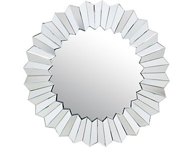 Daisy II Round Mirror, , large