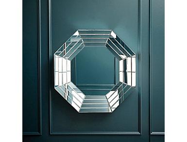 Octagon Framed Mirror, , large