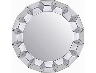 Diamond Border Mirror, , large