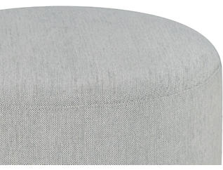 Tuba Swivel Gliding Ottoman, Grey, large