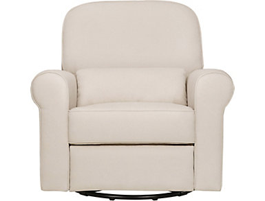 Ruby Cream Recliner and Glider, , large