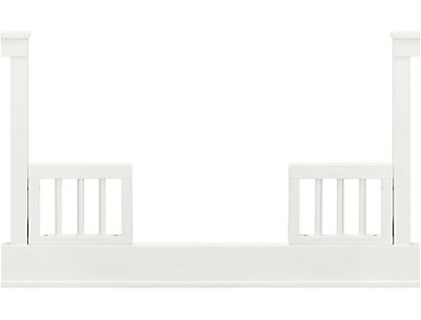 Tanner Toddler Bed Kit-White, , large