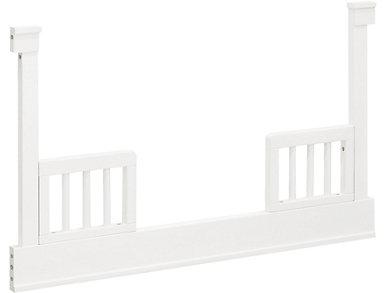 Tanner Toddler Bed Kit-White, , large