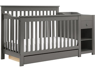 Piedmont 4-in-1 Crib & Changer, , large