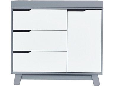Hudson Changer Dresser Gray, , large