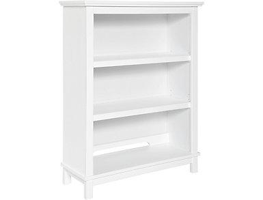 Autumn Bookcase/Hutch-White, , large