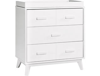 Scoot 3-Drawer Changer Dresser, , large