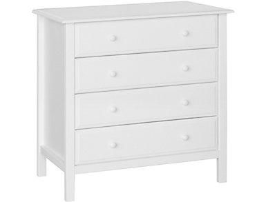4-Drawer Dresser White, , large