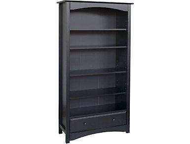 Ebony Bookcase, , large