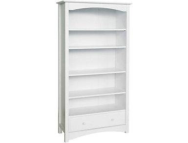 White Bookcase, , large