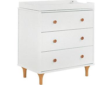 Lolly 3-Drawer Changer Dresser, , large