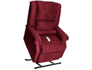 Dearborn Burgundy Lift Chair, Burgundy, large
