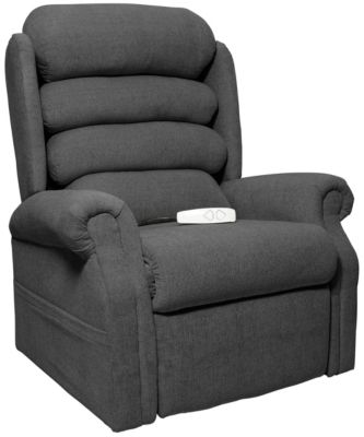 Gladstone Lift Chair Recliner, Brown, Charcoal, swatch