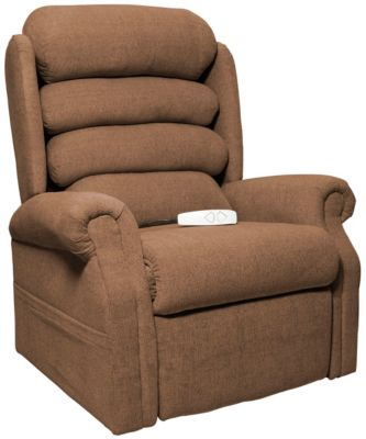 Gladstone Lift Chair Recliner, Brown, Brown, swatch