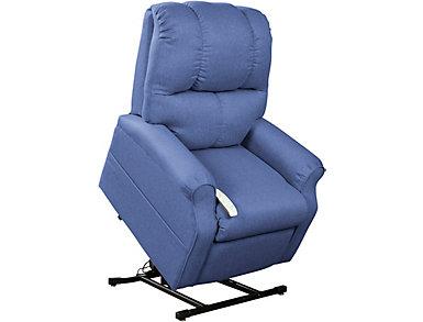 Allen Park Blue Lift Chair, , large