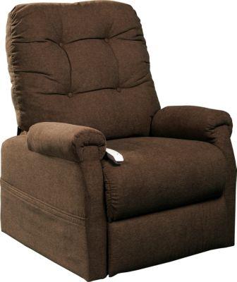 Follett Lift Chair, Beige, Brown, swatch